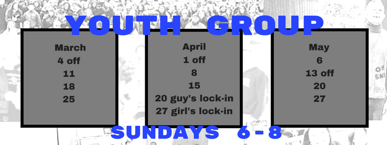 youth schedule