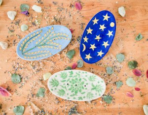 handmade painted soap dishes - handmade-painted-soap-dishes