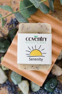serenity handmade soap bar - serenity-handmade-soap-bar