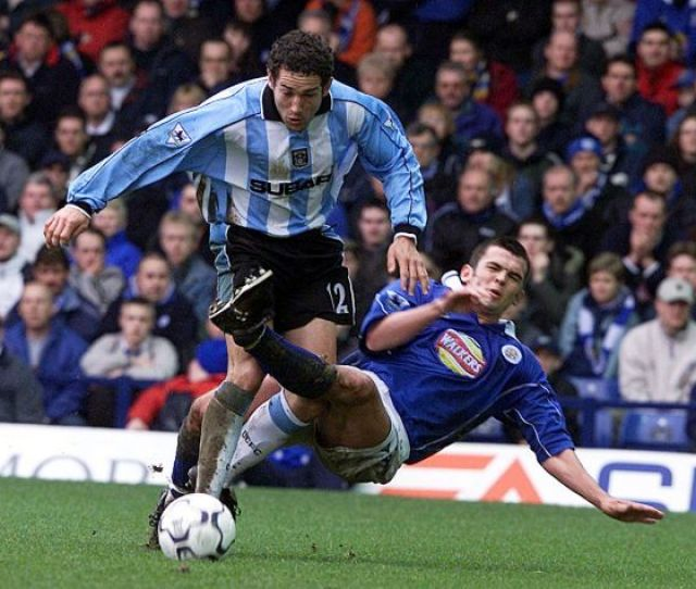 Fa Carling Premiership Leicester City V Coventry City Filbert Street