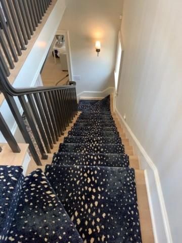 Custom Stair Runners Add Elegance To Your Home – Coventry Flooring | Custom Carpet Runners For Stairs | Wood | Stair Treads | Landing | Carpet Workroom | Flooring