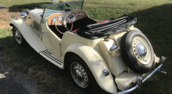 MG TD 1956