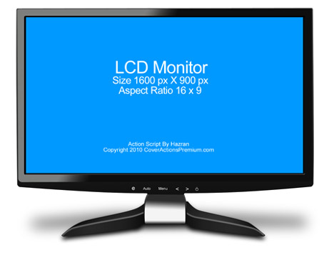 Pc Desktop Lcd Monitor Screenshot Action Script Cover Actions