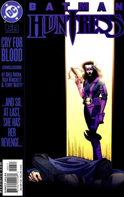 Batman - Huntress 6 - Cry For Blood - Dead - Revenge - Avenged - Sexy Kill