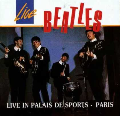 Beatles - The Beatles Live In Palais De Sport Paris