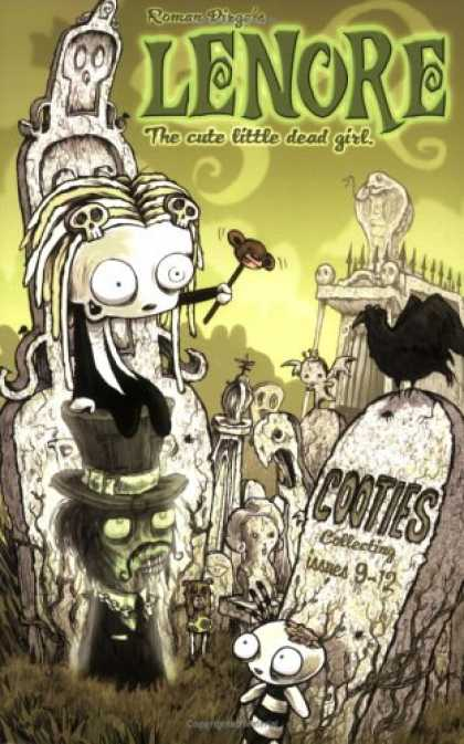 Lenore the Cute Little Dead Girl, Cooties Collecting Issues 9-12 Cover