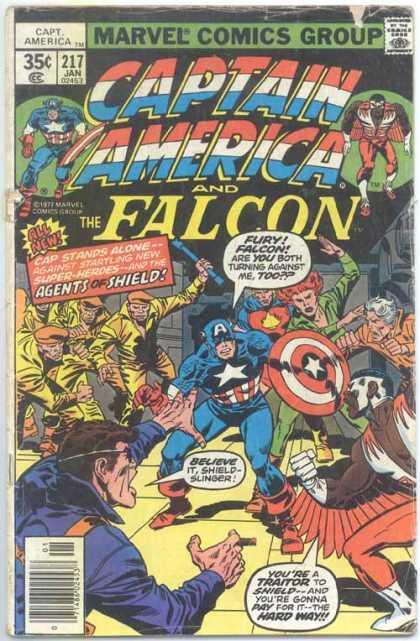 Captain America 217 - John Buscema