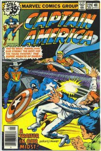 Captain America 229 - Bob McLeod