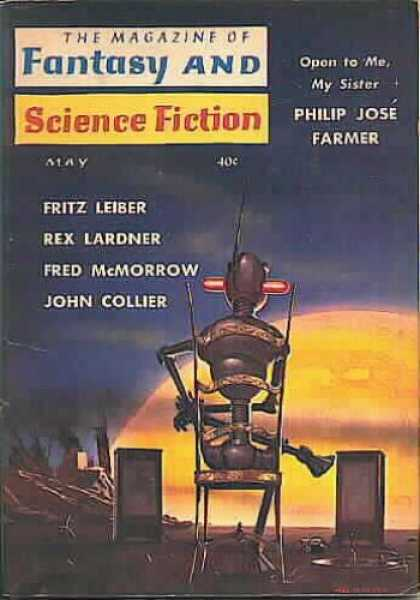 Fantasy and Science Fiction 108