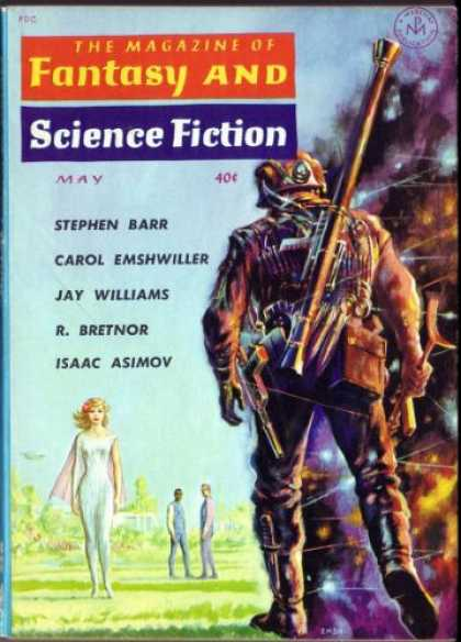 Fantasy and Science Fiction 120
