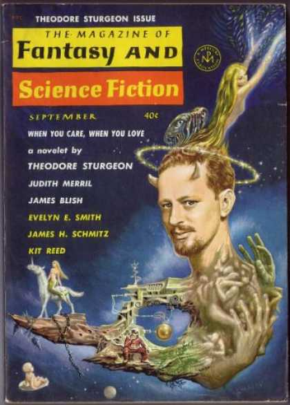 Fantasy and Science Fiction 136
