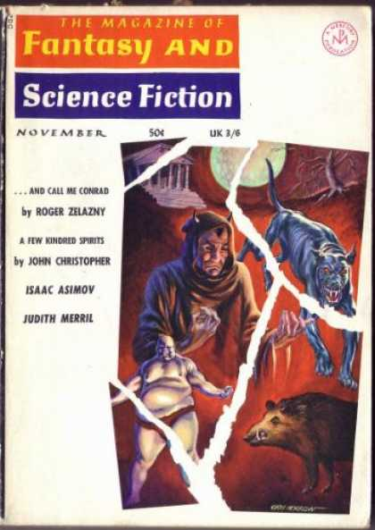 Fantasy and Science Fiction 174