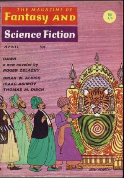 Fantasy and Science Fiction 191