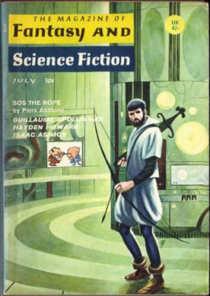 Fantasy and Science Fiction 206