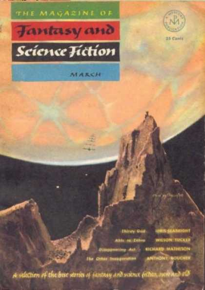 Fantasy and Science Fiction 22