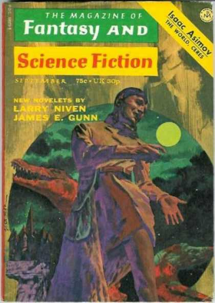 Fantasy and Science Fiction 256