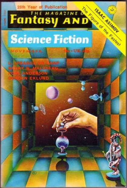 Fantasy and Science Fiction 270