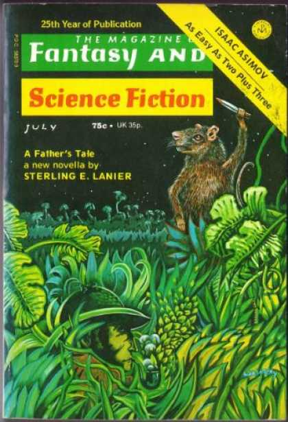 Fantasy and Science Fiction 278