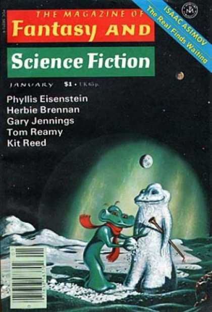 Fantasy and Science Fiction 320