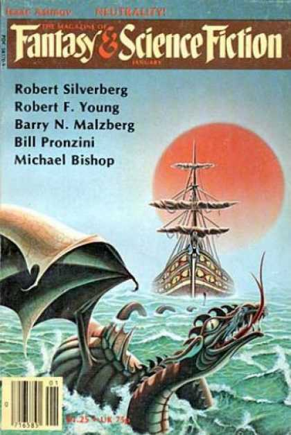 Fantasy and Science Fiction 344