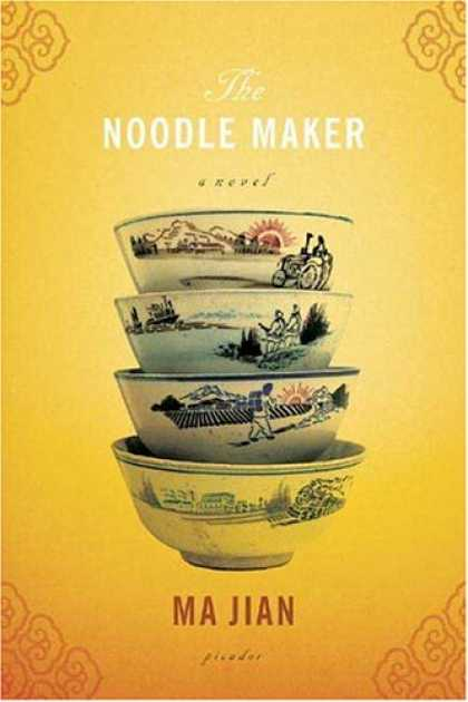 Greatest Book Covers - The Noodle Maker
