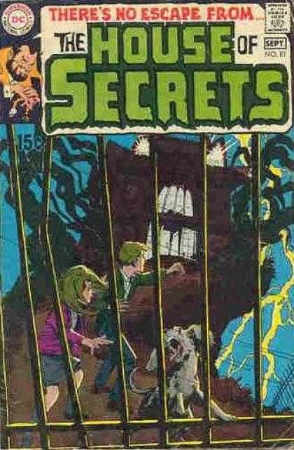 House of Secrets 81 - Dog - Lightning - The Huanting - Adventures Of Bob And Kim - Gate Crashers - Neal Adams