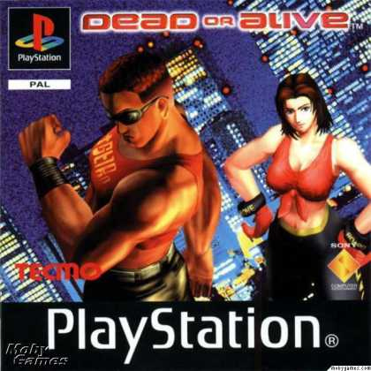 Cover di Dead or Alive su PlayStation