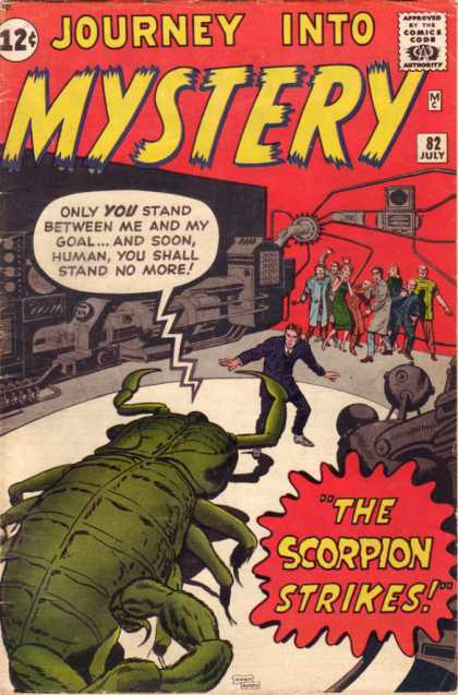Journey into Mystery #82