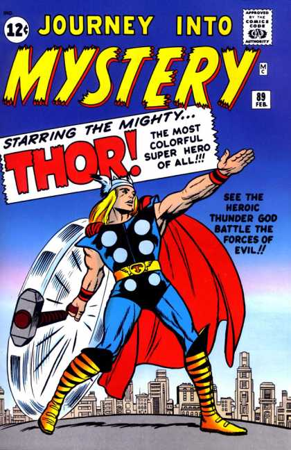 Thor 89 - Journey Into Mystery - The Most Colorful Superhero Of All - Feb 89 - Heroic - Forces Of Evil
