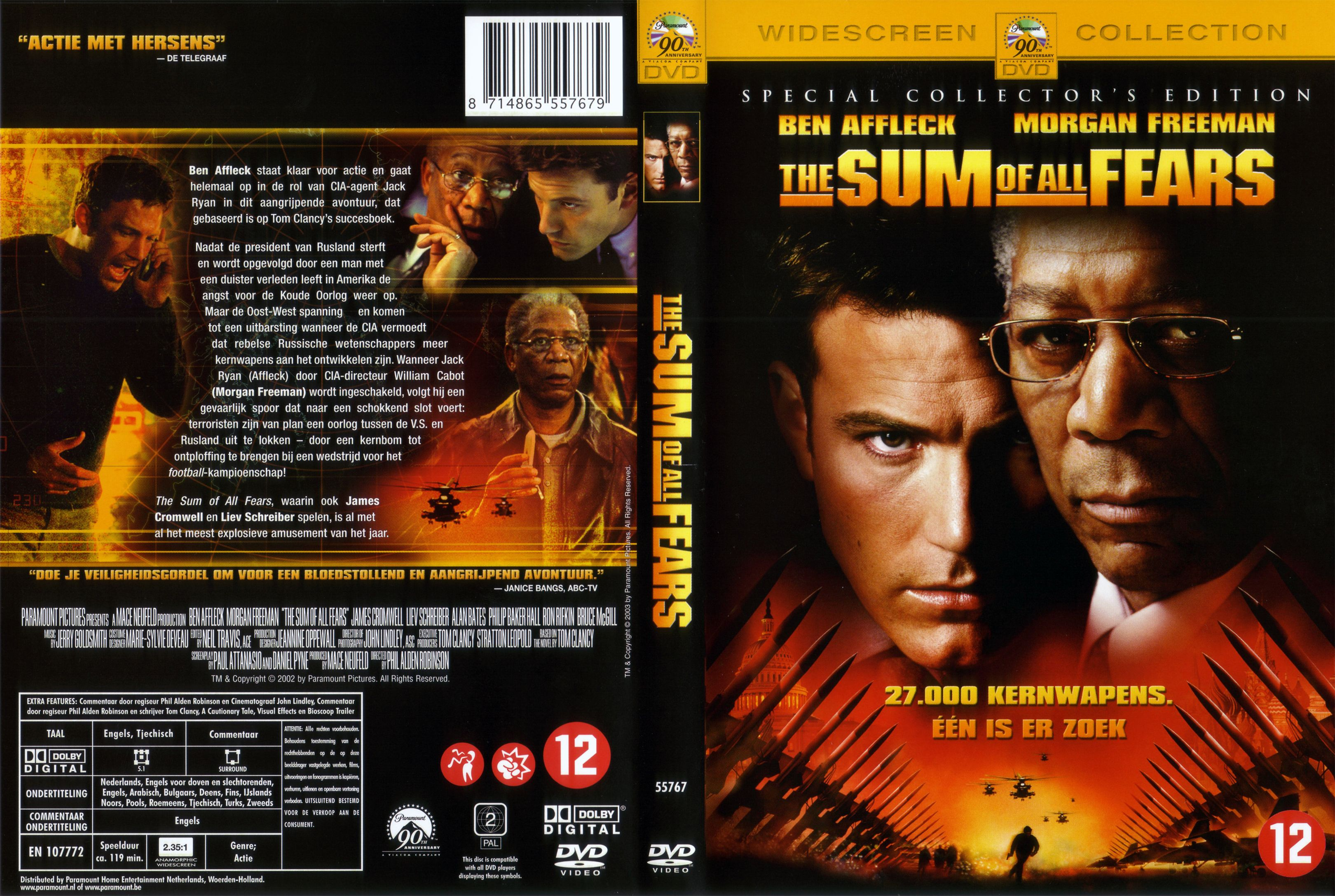 Sum of All Fears*The-Dvd