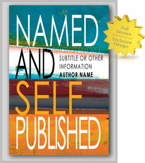 Striped Book Cover Design