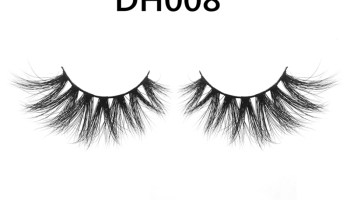 DH008 Hot Selling Big Eyelashes Mink Lashes Wholesale Vendor