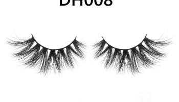 DH008 Hot Selling Big Eyelashes Mink Lashes Wholesale Vendor