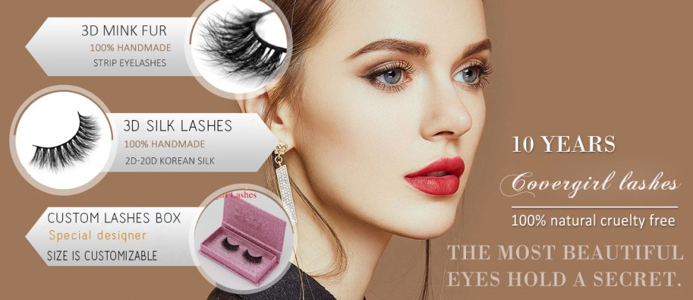 Wholesale Mink Lashes Vendor 3D Mink Strip Eyelashes