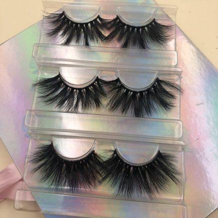 Wholesale Mink Lashes Vendor 3D Mink Strip Eyelashes
