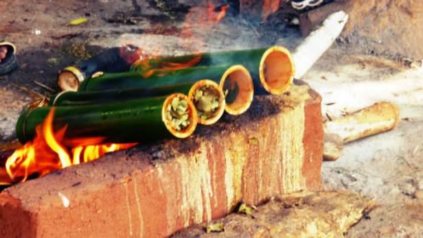Bamboo Chicken - photo taken from internet