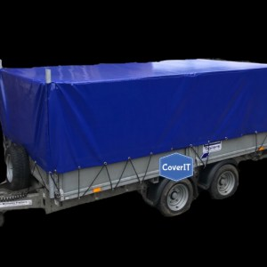 Ifor Williams LM126 mesh side trailer cover