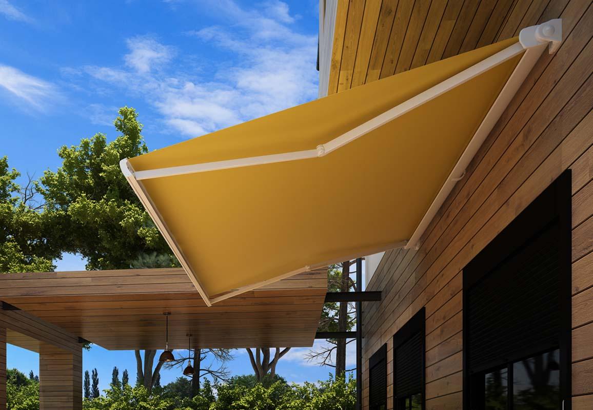 Tenda barra quadra l250xp200 colore beige unito. Tende Da Sole A Mozzate Covermat S R L