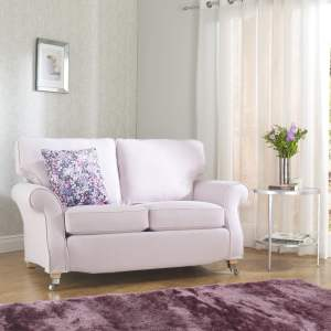 Luxury Cotton Weave - Blush sofa covers