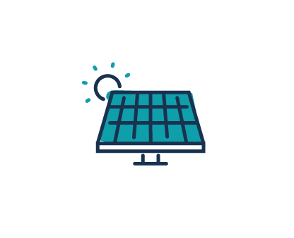 Solar powered factory