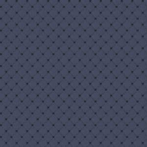 Cotton Diamond - Navy Blue