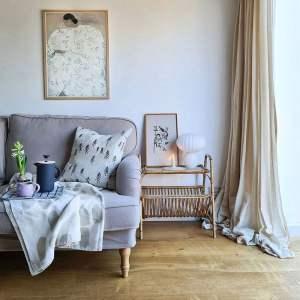 @aliceinscandiland's Luxury Cotton Weave - Sesame replacement IKEA sofa covers