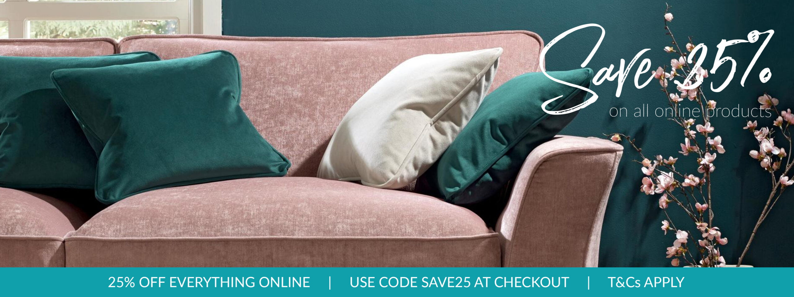 25% off everything - use code SAVE25