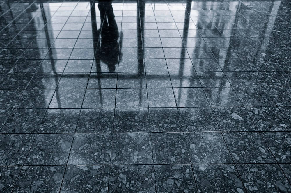 how to deal with slippery floor tiles