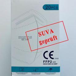 Schachtel FFP2 KINGYI OP01 SUVA geprüft