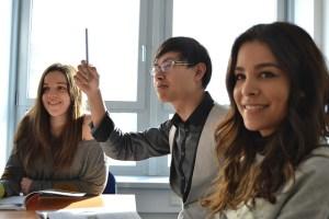 10% der Studenten kommen aus dem Ausland
