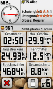 Garmin Screenshot 12.08.2012