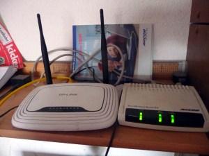 DSL-Modem & TP-Link-Router