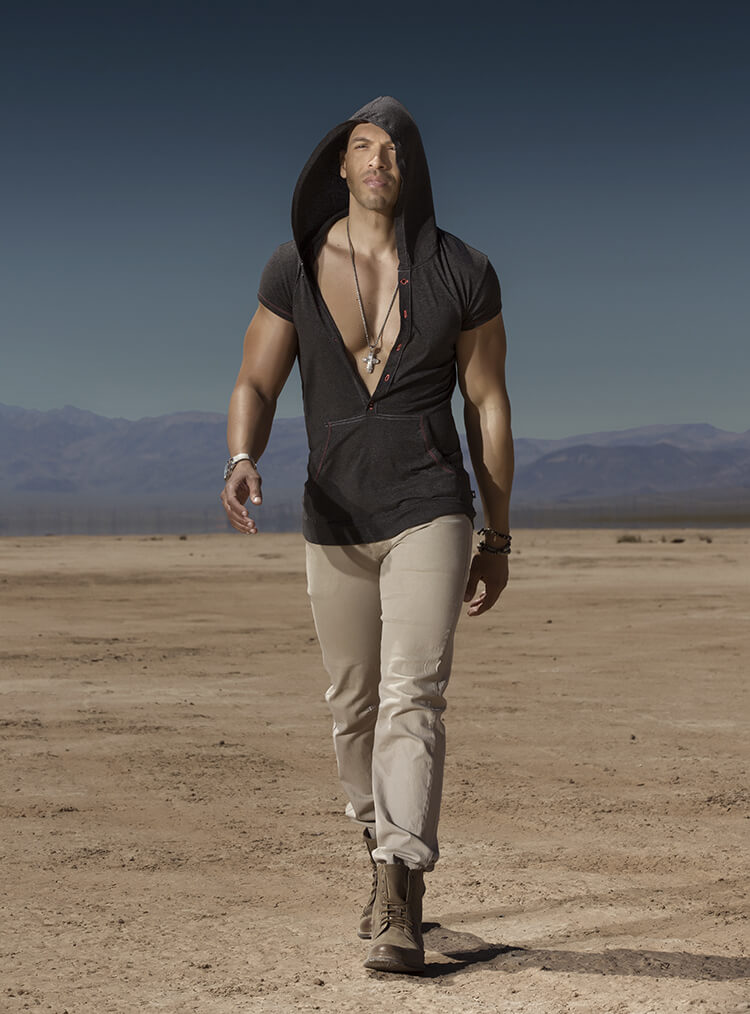 Vin Armani From Gigolos Show On Showtime Cowboys 4 Angels
