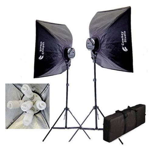 2000 watt photo studio lighting softbox video light kit carry case 2000wkit